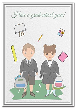 Back to school card good luck wishes milestone messages back to school card good luck wishes milestone messages greeting cards happy m4hsunfo