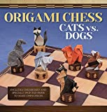 Origami Chess: Cats Vs. Dogs (origami Books)-Roman Diaz
