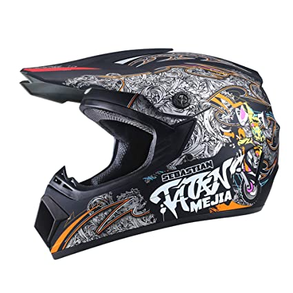 Motorcycle Helmet Motocross Off Road Helmet Moto Casco Men Full Face Moto Helmet