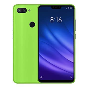 TBOC Funda de Gel TPU Verde para Xiaomi Mi 8 Lite - Mi8 Lite (6.26