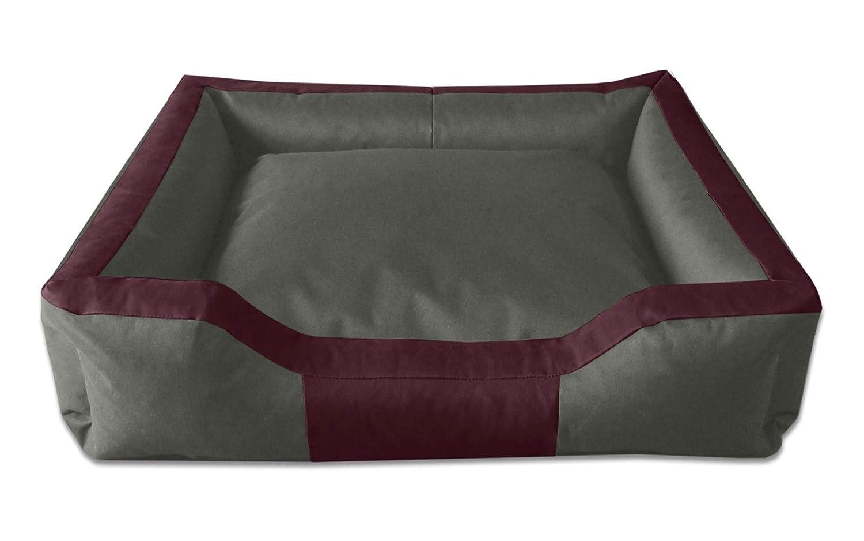BedDog Bruno Verde/Negro XL Aprox. 100x85cm colchón para Perro, 16 ...