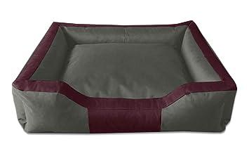 BedDog Bruno Burdeos/Gris XXL Aprox. 115x85cm colchón para Perro, 16 Colores, Cama para Perro, sofá para Perro, Cesta para Perro: Amazon.es: Productos para ...