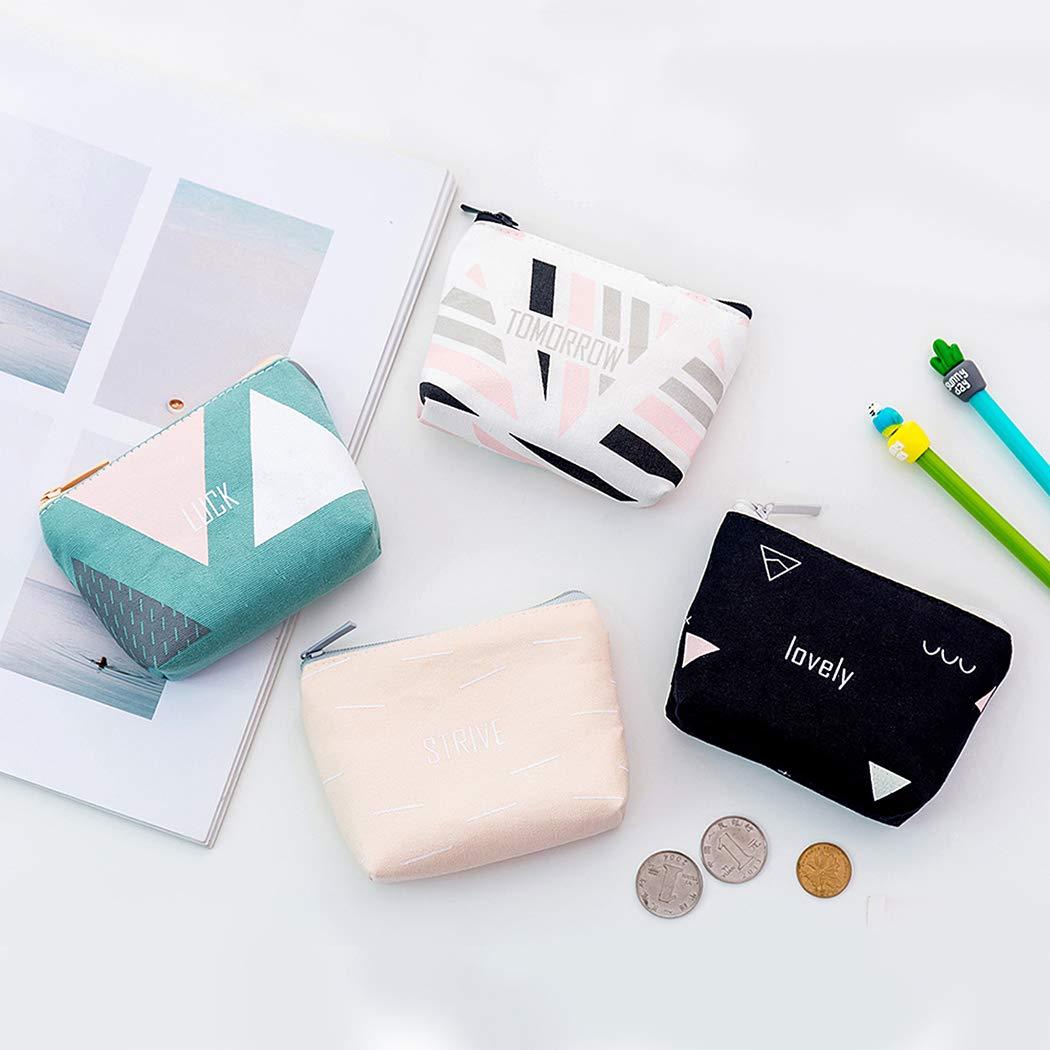 iSuperb Borsa Portamonete Portafoglio da Donna Tela Borsellino ragazzo Mini Cute Coin Pouch Bag Animale