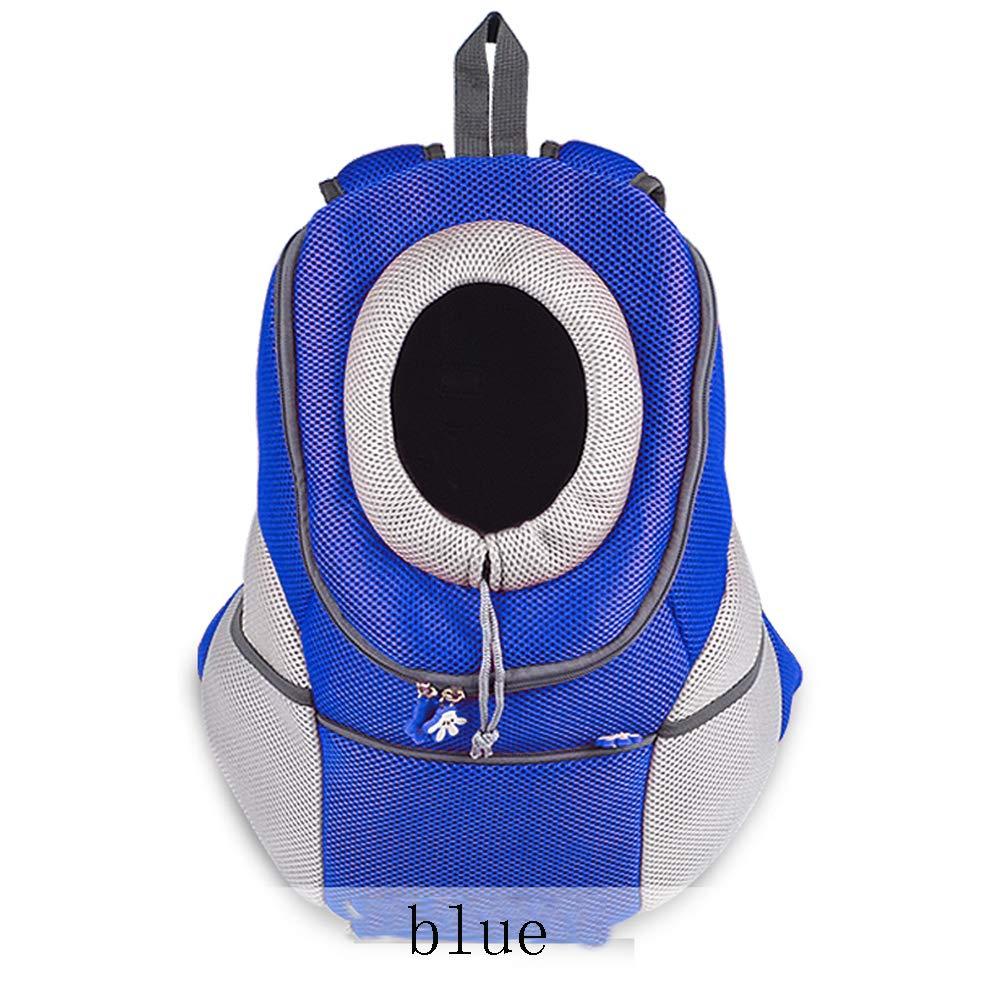 C 382042cm C 382042cm XYDDP Foldable travel Pet bag,Chest Breathable double shoulder easy to carry Cat bag dog backpack