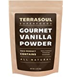 Terrasoul Superfoods Gourmet Madagascar Vanilla Powder, 2oz