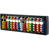 Wowlife 13 Digits Rods With Colorful Beads Plastic Abacus Arithmetic Soroban Kids Calculating Tool