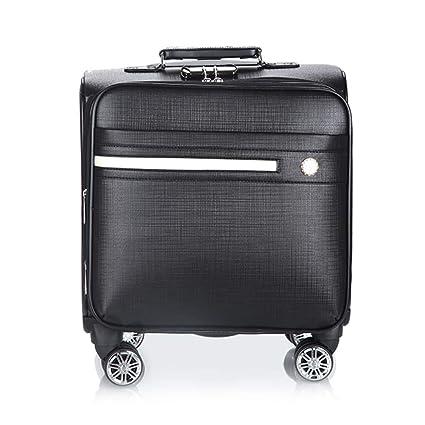 Flight Case Maleta con Compartimiento para computadora portátil, PU Material de Viaje Impermeable en la