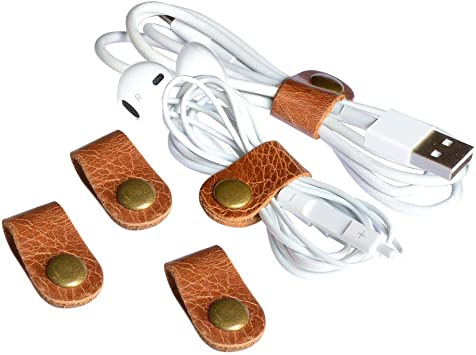 10 PC US SELLER *Cable Cord Organizer Wrap Winder For Earbuds Charger