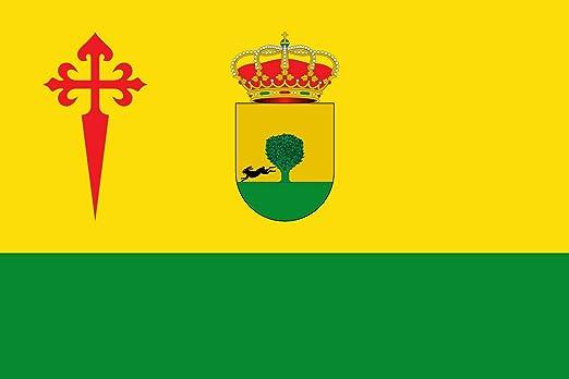 magFlags Bandera Large Tomelloso, Ciudad Real, España | Bandera Paisaje | 1.35m² | 90x150cm: Amazon.es: Jardín