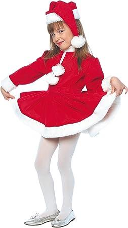 Stamco Disfraz Mama Noel Niña (8 - De 6 a 8 años): Amazon.es ...