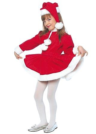 Stamco Disfraz Mama Noel Niña (10 - De 8 a 10 años): Amazon ...