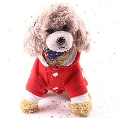 FIRECW Ropa para Perros Ropa para Perros De Navidad Disfraz ...