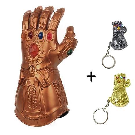 BGHKFF Thanos Guantes,Avengers Cosplay Infinity LED ...