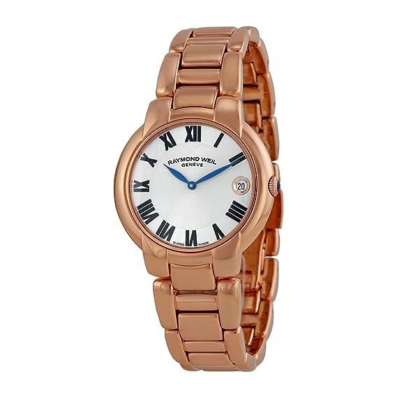 Raymond Weil 5235-P5-01659 - Reloj para mujeres, correa de acero inoxidable