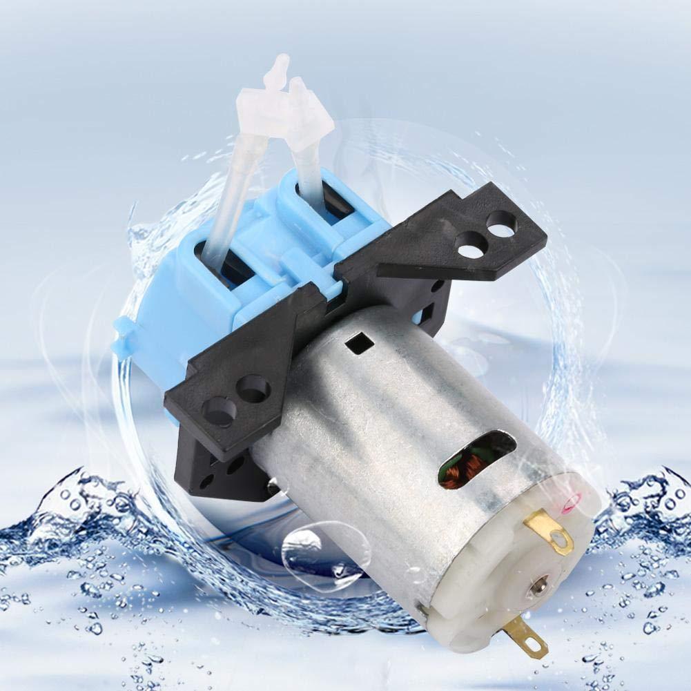 Schlauchpumpe Automatische Mikrowasserpumpe f/ür die chemische Analyse im Aquariumlabor 12V 1 * 3-Blau