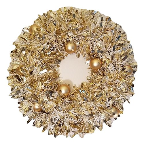 Elegant Gold Christmas Wreath Wall Hanging Christmas ornament Decor Home Traditional Decoration Upside Down Christmas Trees