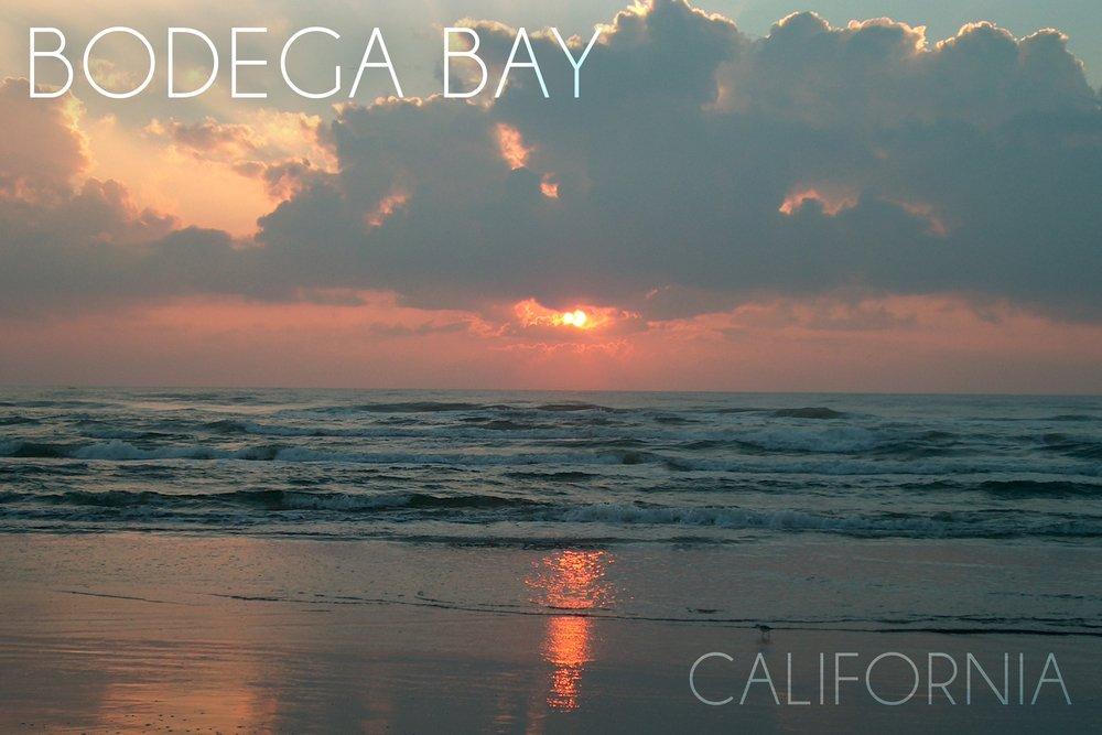 Bodega Bay , California – オーシャンat Dawn 36 x 54 Giclee Print LANT-52735-36x54 36 x 54 Giclee Print  B017EA13Q8