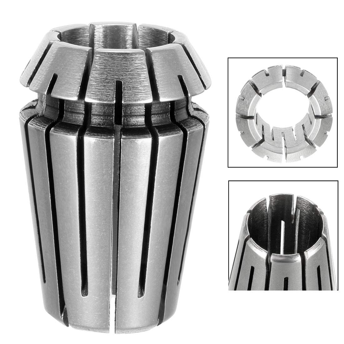 sourcing map ER20 1//8 Spring Collet Chuck for CNC Engraving Machine Lathe Milling Tool