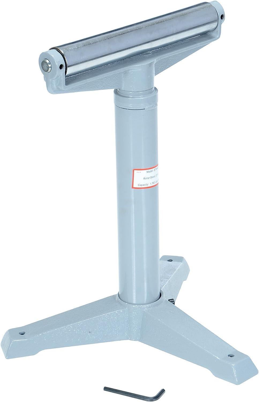 "Vestil STAND-H 14"" Horizontal Deluxe Roller Stand, 23"" - 38-1/2"" Height, 1760 lbs Capacity: Adjustable Roller Stand: Industrial & Scientific"