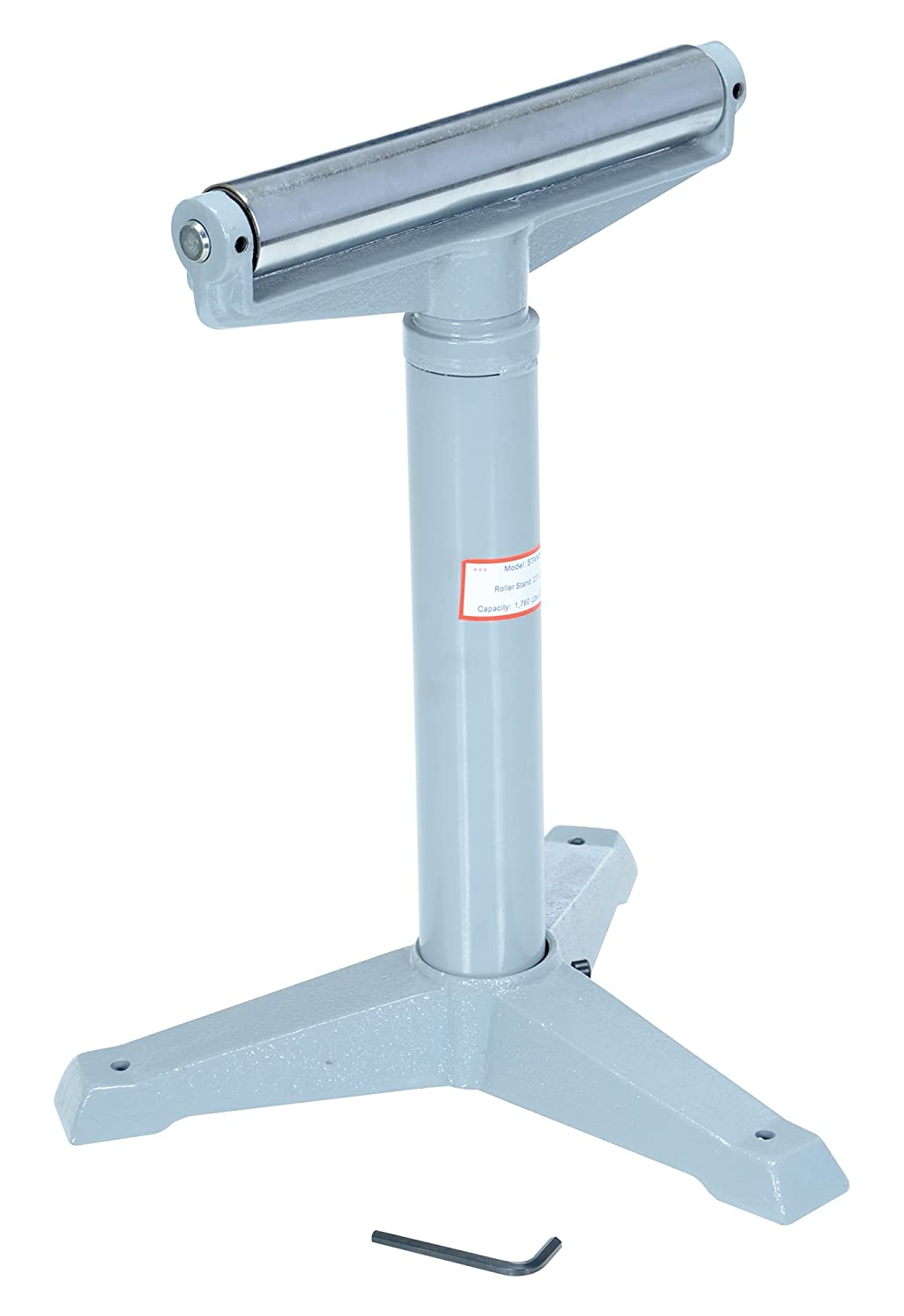 Vestil STAND H 14 Horizontal Deluxe Roller Stand 23 38 1 2 Height 1760 lbs Capacity