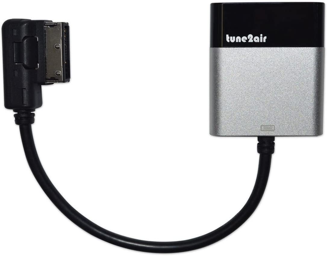 Tune2Air WMA3000A Bluetooth Adapter for Streaming iPod//iPhone//iPad to Audi//Mercedes//VolksWagen