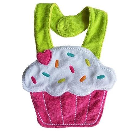 Y saliva-BOA-Toalla de algodón, para bebés, color morado, diseño