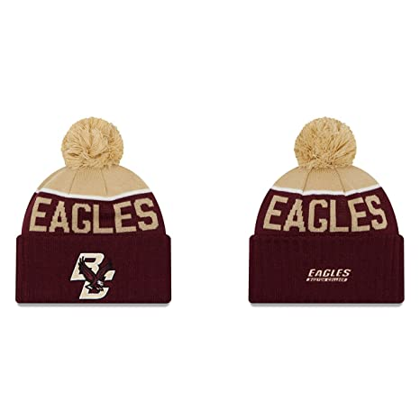 5f4b56d14c600f Amazon.com : Boston College Eagles New Era Sport Knit Adult Winter ...
