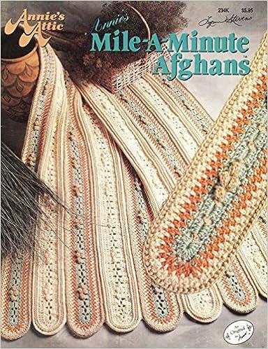 Annie\'s Mile-A-Minute Afghans (Annie\'s Attic, 234K): Annie Potter ...