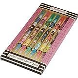 Santoro - Set 6 bolígrafos gorjuss multicolor