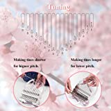 Clear Kalimba 17 Keys Thumb Piano, Portable Transparent Acrylic Mbira Wood Finger Piano, Musical Instrument Gifts for Kids Ad