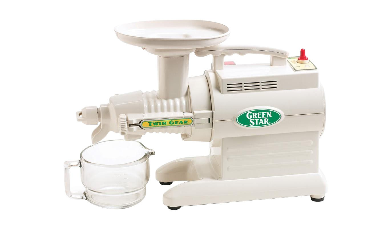 Tribest Greenstar Home Kitchen Original Basic HD Twin Gear Juicer-GS-1000-B