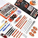 96 in 1 Screwdriver Set Precision,Full Electronic Repair Tool Kit Professional,S2 Steel for Fix iPhone/Computer/Mobile Phone/iPad/MacBook/Laptop/Watch/Game Console DIY Pry Open Replace Screen