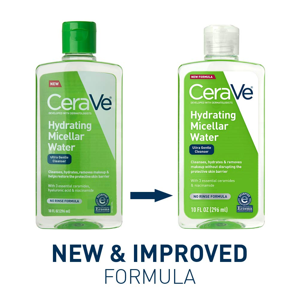 Amazon.com: CeraVe Agua micelar - Fórmula discontinuada: Beauty