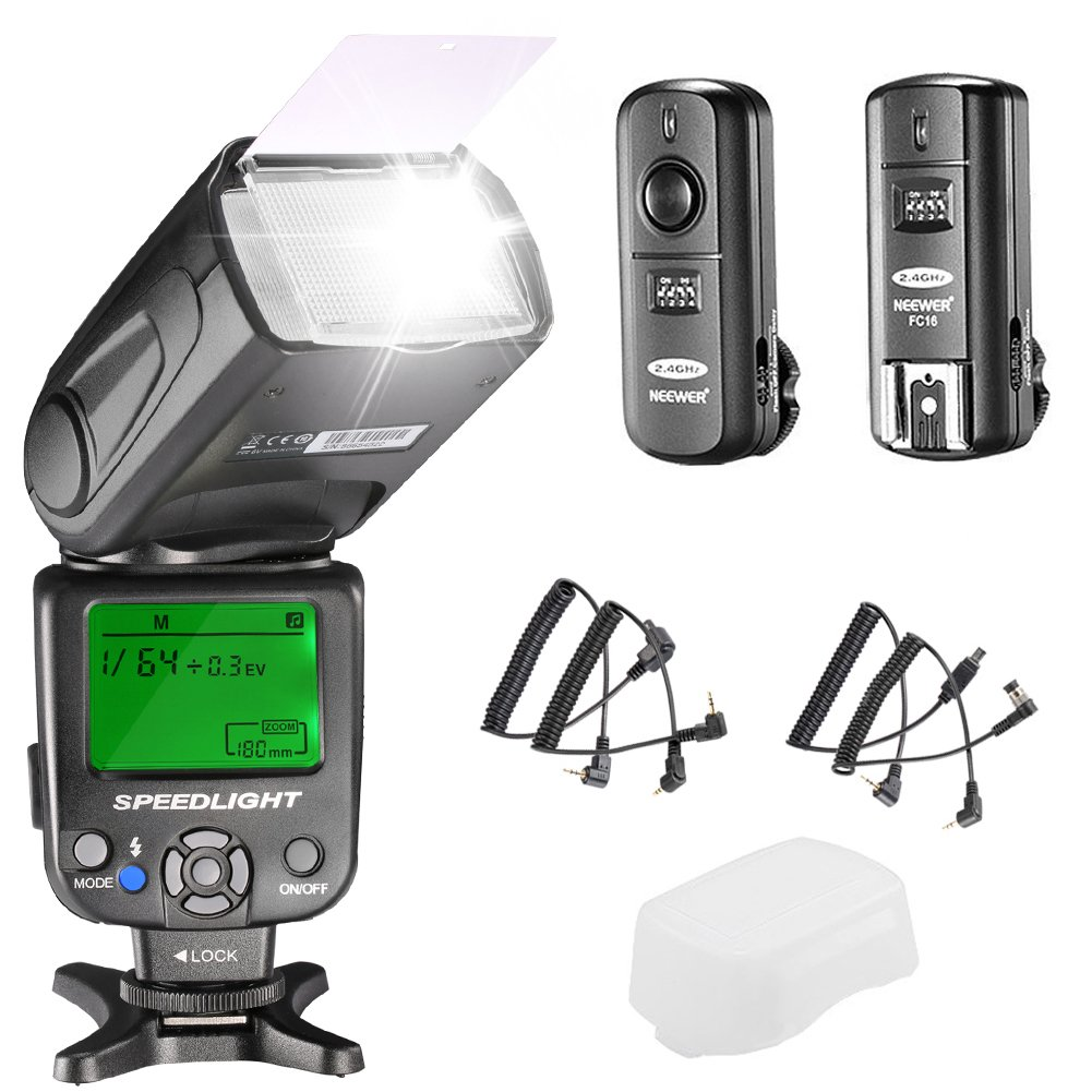 Neewer NW620 Manual Speedlite Cameras Image 1