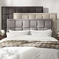 iNSPIRE Q Porter Linen Woven Upholstered adboard by Classic Beige Queen
