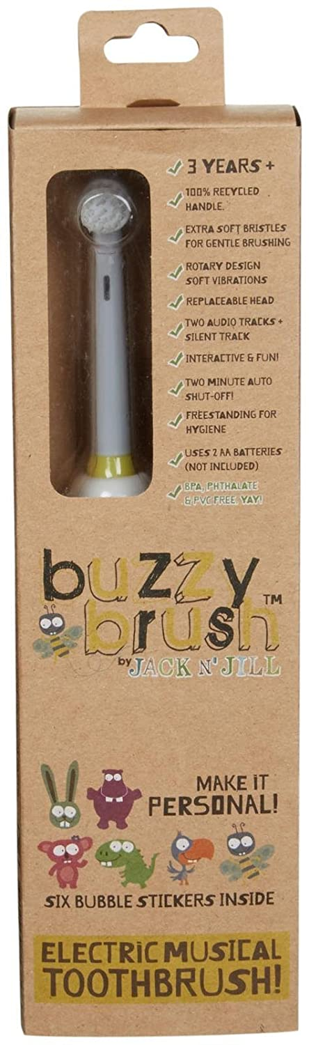 Buzzy Brush Electric Musical Toothbrush Jack N Jill 82981