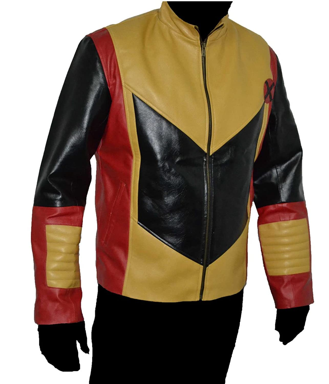 Colossus Faux Leather Jacket SAT 1