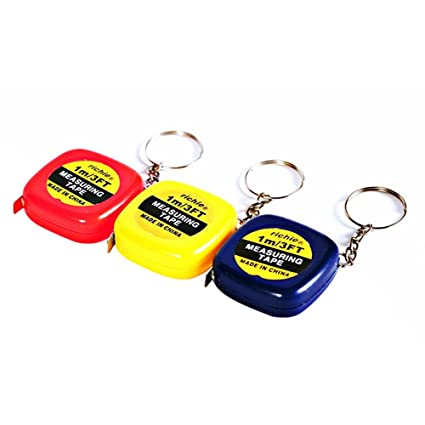 Zorbes MK1519 1M Mini Measuring Tape with Key Buckle