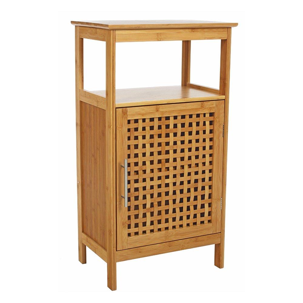 meuble salle de bain en bambou: amazon.fr: cuisine & maison - Photo Meuble De Salle De Bain