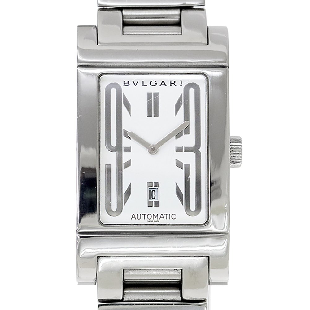 cheap for discount 0d8c0 85e65 Amazon   ブルガリ BVLGARI レッタンゴロ RT45S メンズ 腕時計 ...