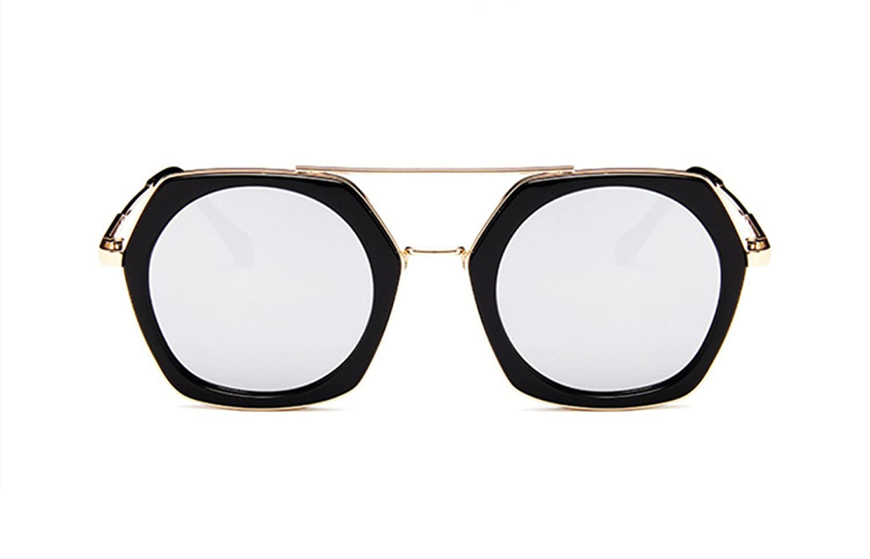 Wer Bin Ich Der Neue Trend Der Großen Box Mode Bunte Quecksilber Reise Fahren Sonnenbrille Im Freien,Black