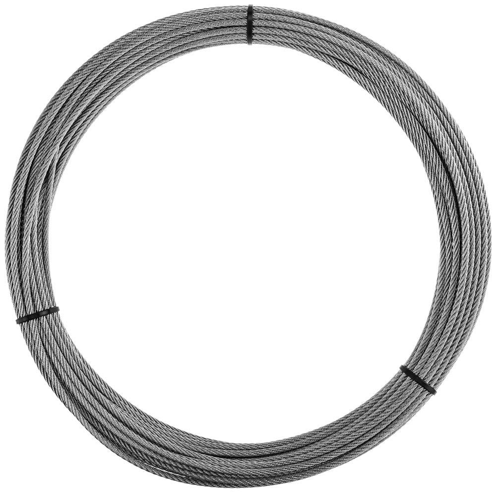 BeMatik Cable de Acero Inoxidable de 4,0 mm en Bobina de 10 m
