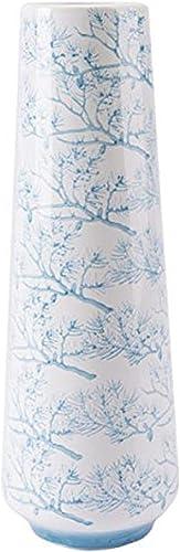 Zuo Branch Vase Large , Blue White