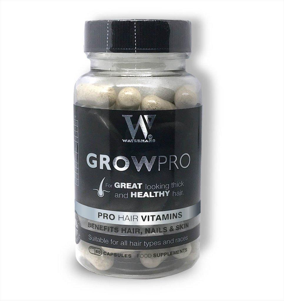 Best Vitamine per capelli - GrowPro - Integratori per la crescita dei capelli con una formula per rinforzare le unghie per unghie più lunghe e resistenti Watermans