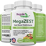 Regale Health Whole Food Multivitamin with Natural Minerals, Green Superfood Extracts, Probiotic, Digestive Enzymes, Antioxidants-Men and Women Supplement for Daily Energy, Heart, Skin, Immune System