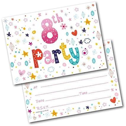 Doodlecards - Invitaciones para fiesta de cumpleaños número ...