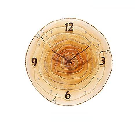 Tochange Reloj De Pared De La Resina De La Personalidad, Relojes Decorativos Lujosos Elegantes De