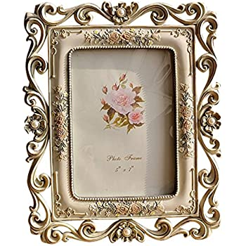 Amazon.com - Belle Maison Jeweled and Colored Stones Picture Frame ...