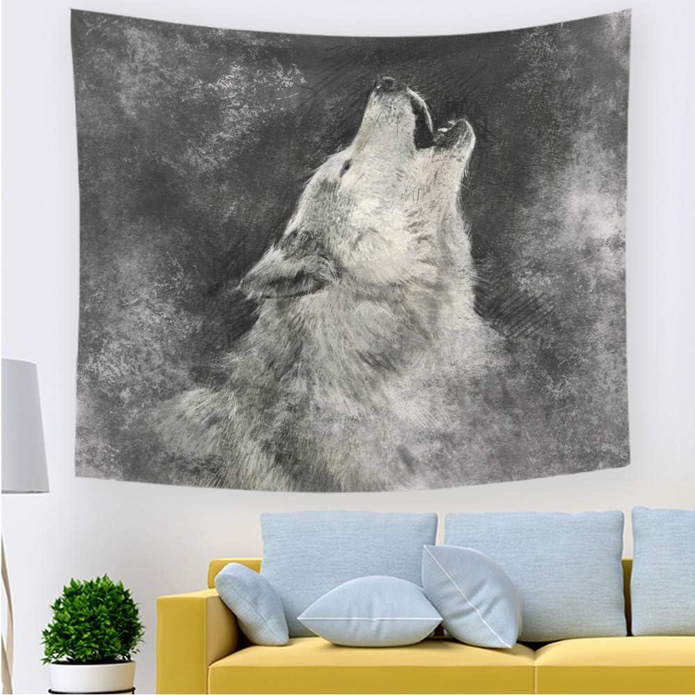 xkjymx Moda Animal Tapiz 211411 200 * 150 cm sección Delgada ...