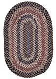 Boston Common Polypropylene Braided Rug, 4-Feet by 6-Feet, Purple Haze Review